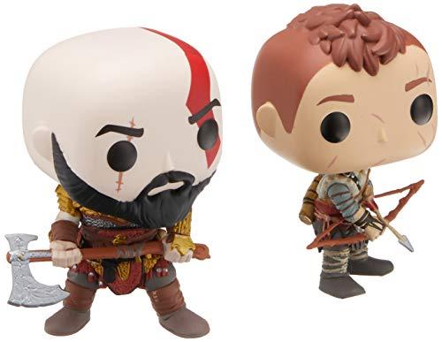 FunKo God of War 2018- Kratos & Atreus Pop! Vinyl, 2 Pack