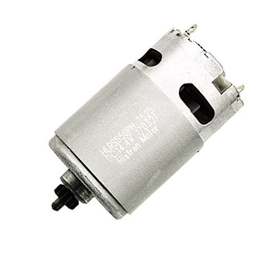 Almabner 13 Zähne 14,4 V Motor Metall Teile Ersatz für Bosch GSR 14.4 2 Li, Wie abgebildet, Motor Engine