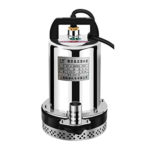 Jian E Dompelpomp DC waterpomp elektromechanische pomp hoge waterpomp waterpomp klein huis 12V / 24 V