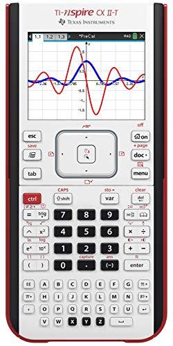 Texas Instruments, TI-NSPIRE CX II-T - Calcolatrice grafica digitale a colori