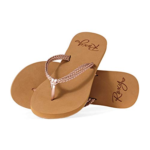 Roxy Costas, Chaussures de Plage & Piscine Femme, (Rose Gold Rsg), 38 EU