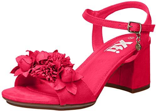 XTI 35193.0, Zapatos con Tira de Tobillo para Mujer, Rosa (Fucsia Fucsia), 36 EU