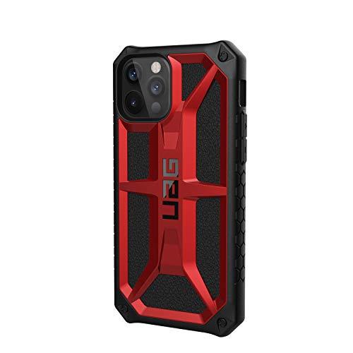 URBAN ARMOR GEAR iPhone 12/12 Pro(6.1) 2020対応耐衝撃ケース MONARCH クリムゾン 【日本正規代理店品】 UAG-IPH20M-P-CR
