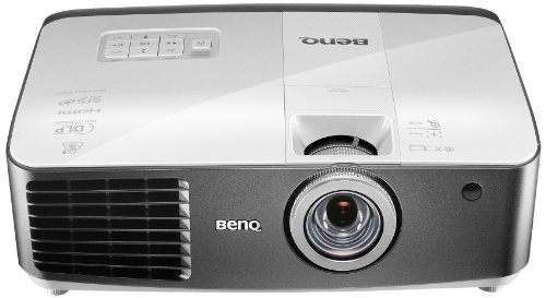 BenQ W1500 3D-DLP-Projektor (New 3D, Full-HD, 1920 x 1080 Pixel, Kontrast 10.000:1, 2200 ANSI Lumen, Lens Shift, Wireless HDMI, Frame Interpolation, 2x HDMI, inkl. 3D-Brille) weiß