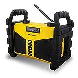 Metronic 477208 Radio FM Bluetooth 20 W de chantier résistante aux chocs avec Port...