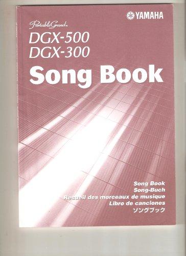 Yamaha Portable Grand Song Book *DGX-500 / DGX-300