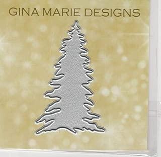 Gina Marie Metal Cutting Paper Craft die - Pine Tree