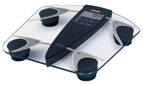 Soehnle 63665 Atlantic Glass Body Fat/Water Analysis Scale