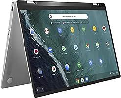 "ASUS Chromebook Flip C434 2-In-1 Laptop, 14"" Full HD Touchscreen 4-Way NanoEdge, Intel Core M3-8100Y Processor, 4GB RAM,..."