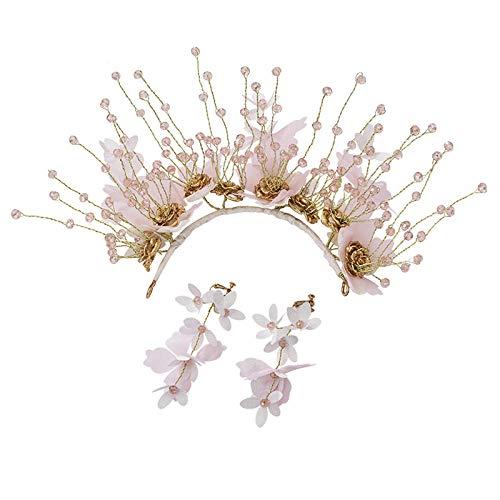 Haarspeldjes & Haarspeldjes Haarbanden Vrouwenkammen Mollette Per Capelli Bruids Tiara Hoofdband Bruiloft Sjaal Jurk Styling Accessoires