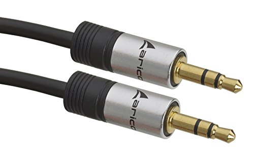 Aricona Aux Kabel 1m 3.5mm Audio Kabel – 1 Meter Klinkenkabel