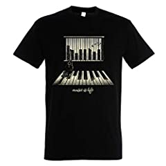 Pampling Camiseta Music Is Life - Piano