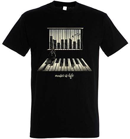 Pampling Camiseta Music Is Life - Piano