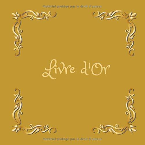 Livre d'Or: Un beau livre d'or Spécial pour Mariage, , Noce| 122 pages à remplir | Format 8,25' x 8,25'