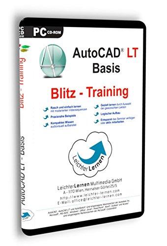 AutoCAD LT Grundlagen (Basis 1) Blitz-Training LeichterLernen Multimedia Seminar