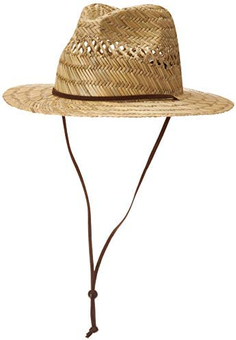 Quiksilver mens Jettyside Hat Baseball Cap Natural Brown Large X Large US product image