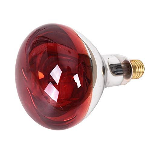 Bulary 275W Elektromagnetische Welle Wärmelampe Thermo-Therapie für Schmerzlinderung Behandlung Physiotherapie elektrische Backlampe rote Glühbirne