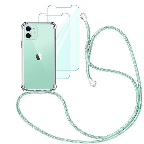 Yohii Funda con Cuerda Compatible con iPhone 12 / iPhone 12 Pro...