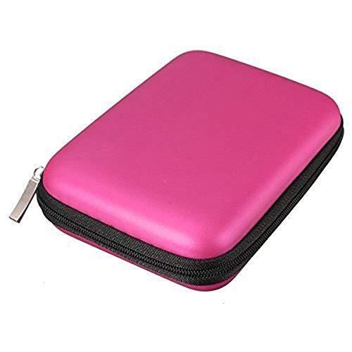 Wean Backup Plus - Disco duro externo portátil delgado de 1 TB, 2 TB, USB para disco duro externo de 2,5 pulgadas para WD Elements Samsung Slimline Toshiba Canvio Basics Seagate