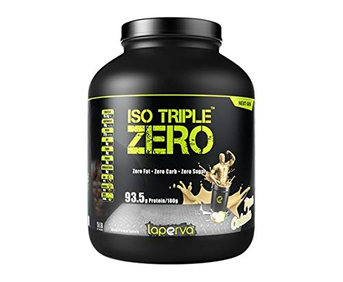 Laperva ISO Triple Zero Next Generation Premium Whey Protein Isolate Zero Carb, Zero Fat, Zero Sugar whey Protein Powder Isolated for Weight Loss and Muscle gain (Pinacolada)
