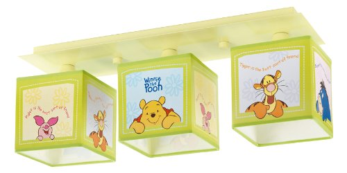 Dalber–73665–Lámpara de techo–Rampa 3lámparas–Winnie The Pooh