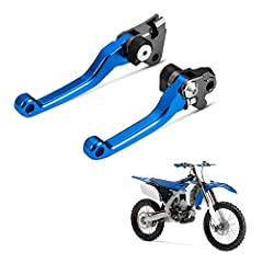 FOLDABLE FEATURE: yz125 yz 250 levers flexible folding feature makes them extremely durable against bend or break, YZ125 Levers can be fold outward to prevent breakage in the event of a crash FITMENT: Compatible with Yamaha YZ125 YZ250 YZ250F YZ426F ...
