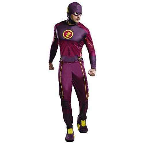 Rubie's, costume ufficiale da personaggio di Flash della DC Comics, da adulto,XL