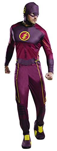Rubie's 3810395 - The Flash Classic - Adult, Action Dress Ups und Zubehör, One Size