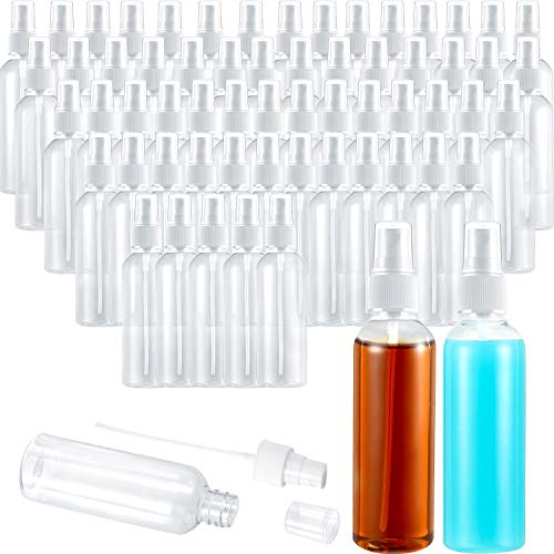 60 Piezas Botella de Spray Transparente de 3,4 oz/ 100 ml Mini...