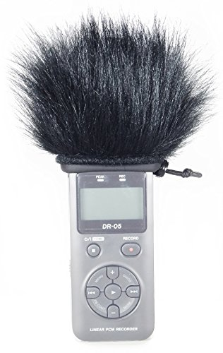Master Sound Tascam DR-05, Windscreen Muff for recorder Tascam Tascam DR-05 to protect the record from the wind, easy to put, made in the EU from certified, high-quality and reliable materials.