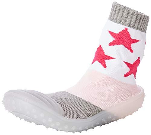 Sterntaler Baby-Mädchen Adventure Sterne Socken, Rosa, 19/20