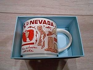 Starbucks Coffee Mug - Been There Series Across The Globe (Nevada) by
