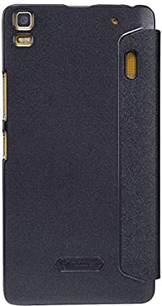 Lenovo A7000 K3 Note LEATHER CASE [Black Color]