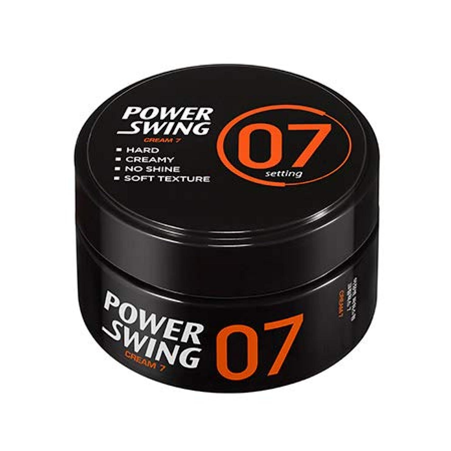 豚冷蔵庫グレー[ミジャンセン.miseenscene]パワースイングクリームワックス7(80g)/ Powerswing Cream Wax7