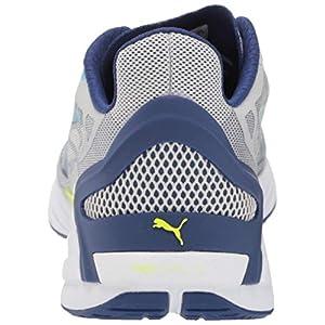PUMA Men's ULTRARIDE Running Shoe, Gray Violet-Elektro Blue, 10