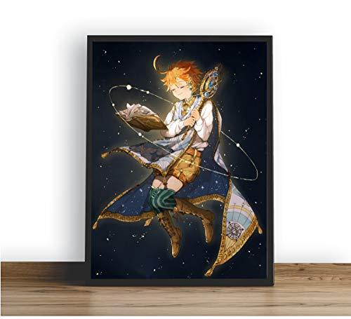 Quadro Decorativo Poste Emma (Yakusoku No Neverland