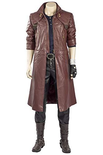 RedJade Devil May Cry 5 Dante Outfit Trenchcoat Cosplay Kostüm Herren S