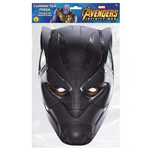 sap-media Black Panther Marvel Infinity War Mask Single 2D Card Party Face Mask