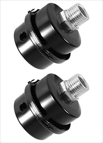 2PCS Silencer Filter, Air compressor Filter ompressor Filter, Intake Filter, Sound Muffler for Air Compressor, Silencer, Fliter (3/8 PT 16mm)