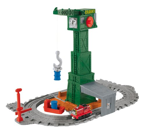Mattel Thomas and Friends Take-n-Play Cranky at The Docks Playset