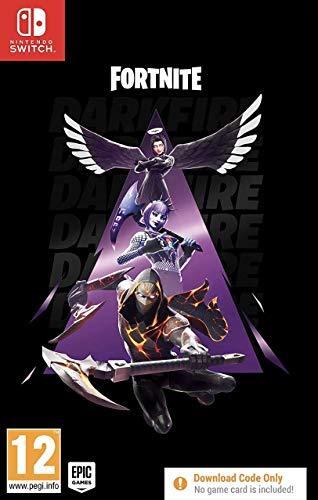 Fortnite Darkfire Bundle - Nintendo Switch [Importación inglesa] (Código digital)