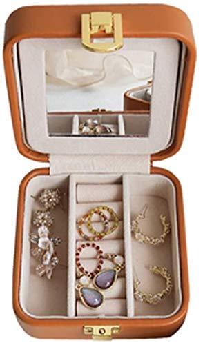 BBLTO Multifunction Desk Organizer, Jewellery Box Organiser Retro Portable Small Travel Jewelry Storage Case for Rings Earrings Necklace Bracelets Birthday Gifts for Girls Women,Storage Rack