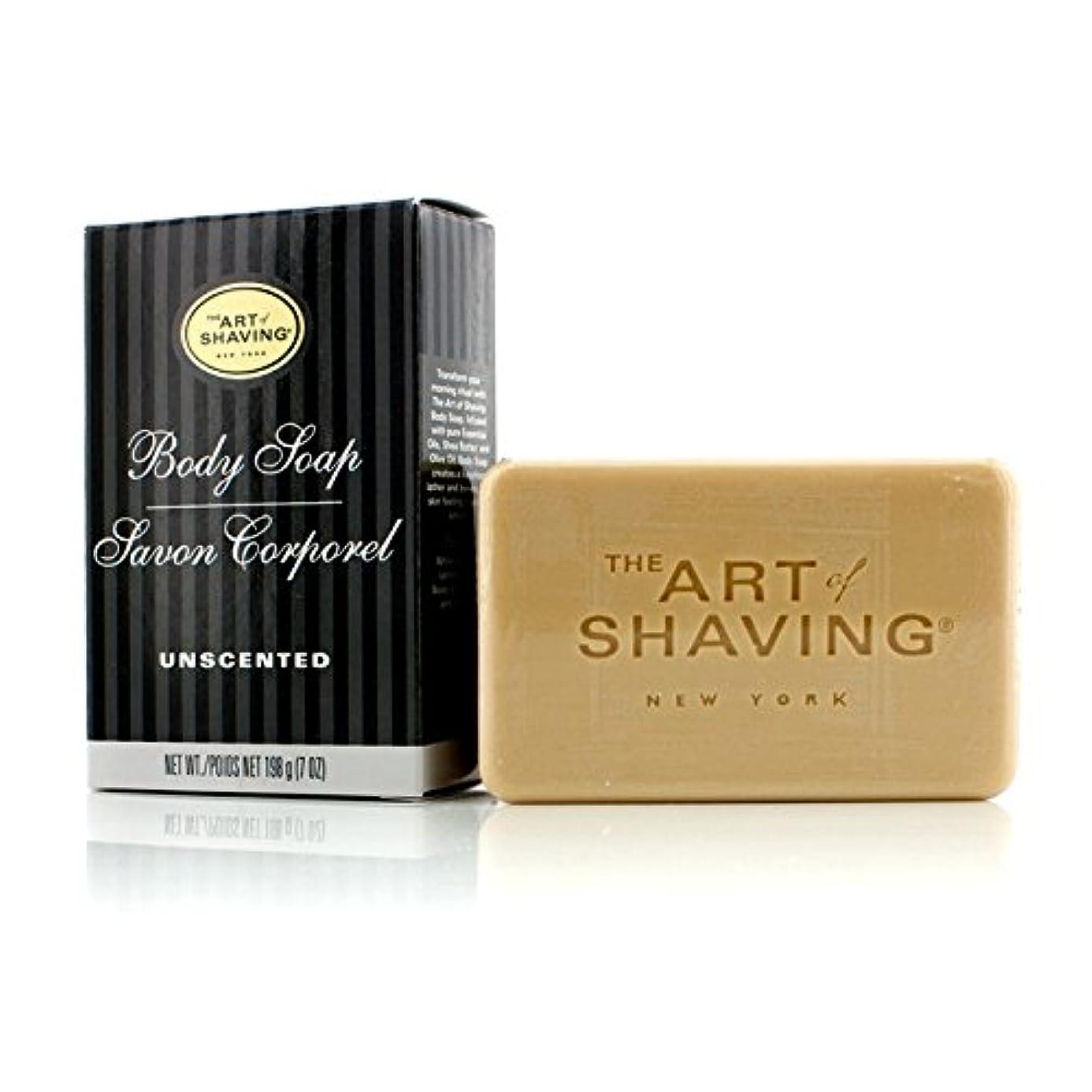 ウガンダソブリケット洗剤アートオブシェービング Body Soap - Unscented 198g/7oz並行輸入品