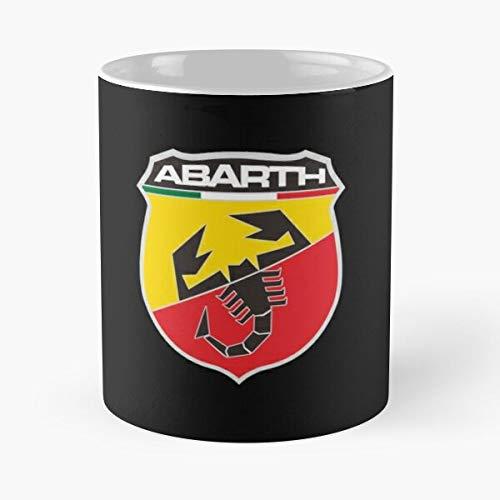 5TheWay Logo Mug Abarth Merchandise Best 11 oz Kaffeebecher - Nespresso Tassen Kaffee Motive
