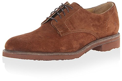 FRYE Jim Oxford Sable pour Homme - Marron - Marron, 46 EU