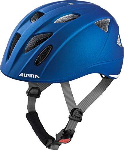 ALPINA XIMO LE Fahrradhelm, Kinder, blue, 49-54
