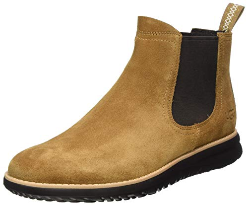 UGG Union Chelsea Weather Boot, Chestnut Suede , Size 7