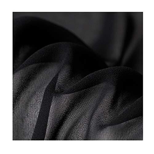 yankai zijden strekken satijn stof stof stof effen garnstof zijde rups zijden jurk voering 110cm breedte NIU