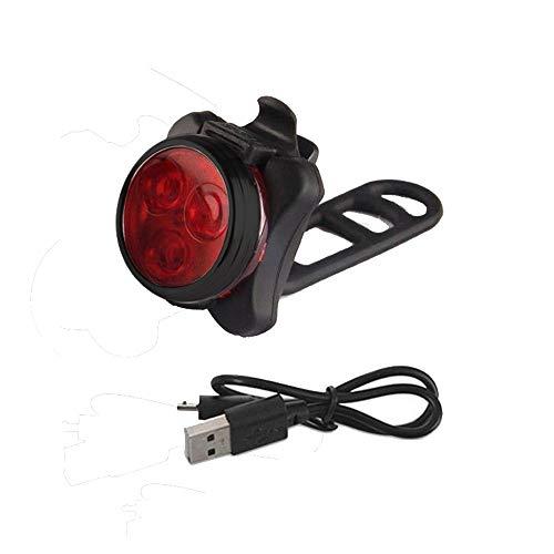 A/B LED Fahrradlicht Set,USB Aufladbar Fahrradlichter Frosch vorne und hinten,wasserdicht, 4 Helligkeitsmodi, Led-Fahrradlicht, perfekt für Mountain- oder Rennrad