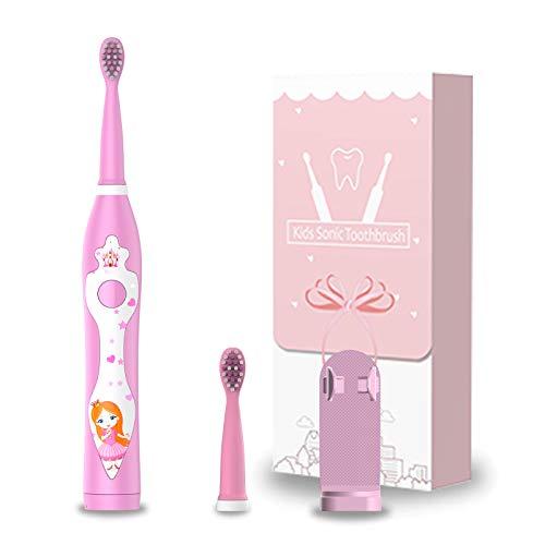 Spazzolino da denti ricaricabile per bambini,...